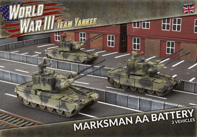TBBX14 Marksman Self-propelled AA Battery Battlefront- Blitz and Peaces