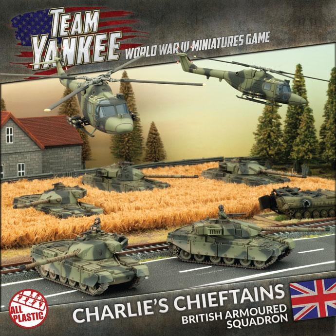 TBRAB1 Charlie's Chieftains - British Armoured Squadron (OOP) Battlefront- Blitz and Peaces