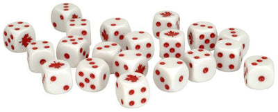 TCA900 Team Yankee Canadian Dice Set