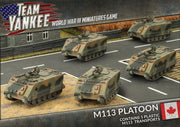 TCBX02 M113 Platoon Battlefront- Blitz and Peaces
