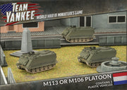 TDBX03 M113 or M106 Platoon (Plastic) Battlefront- Blitz and Peaces