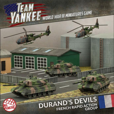 TFRAB1 Durand's Devils (Plastic Army Deal) Battlefront- Blitz and Peaces