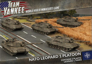 TNBX01 NATO Leopard 1 Tank Platoon Battlefront- Blitz and Peaces
