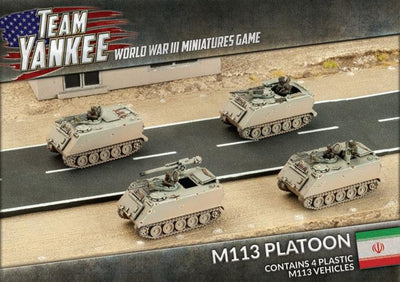 TRBX01 M113 Platoon (Plastic) Battlefront- Blitz and Peaces