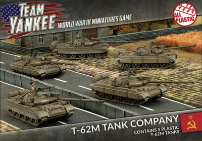 TSBX19 T-62M Tank Company (5 tanks) Battlefront- Blitz and Peaces