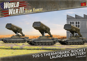 TSBX25 TOS-1 Rocket Launcher Battery (x3)