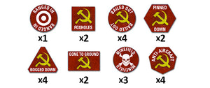 TTK02 Team Yankee Soviet Token Set