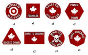 TTK06 Team Yankee Canadian Token Set