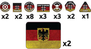 TTK16 West German Token Set Battlefront- Blitz and Peaces