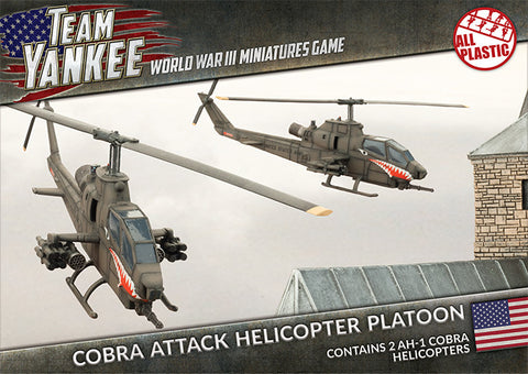 Cobra Attack Helicopter Platoon (Plastic)