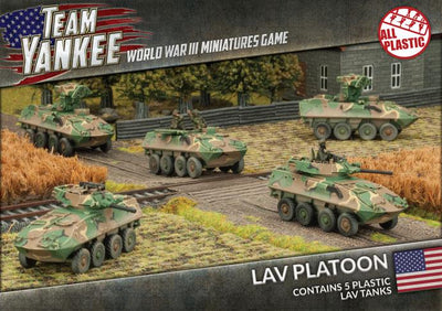 TUBX16 LAV Platoon (Plastic) Battlefront- Blitz and Peaces