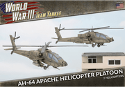 TUBX21 AH-64 Apache Helicopter Platoon Battlefront- Blitz and Peaces