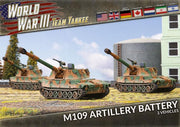 TUBX24 M109 Field Artillery Battery (Plastic) Battlefront- Blitz and Peaces