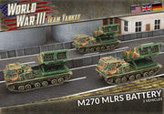 TUBX25 M270 MLRS Rocket Launcher Battery (Plastic) Battlefront- Blitz and Peaces