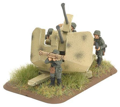 3.7cm FlaKzwilling 43 Gun Battlefront- Blitz and Peaces