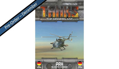 MTANKS25 West German PAH Helicopter Expansion Battlefront- Blitz and Peaces