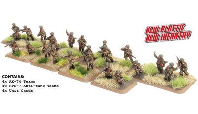 TSU703 Motor Rifle Platoon (Plastic) Battlefront- Blitz and Peaces