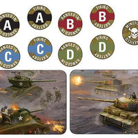 TK103 Late War Mission Token Set Battlefront- Blitz and Peaces