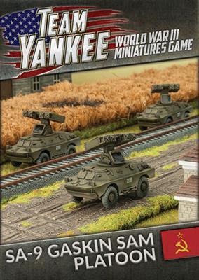 TSBX12 SA-9 Gaskin SAM Platoon Battlefront- Blitz and Peaces