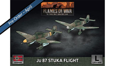 GBX173 JU87 Stuka Flight
