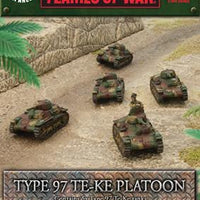 Type 97 Te-Ke Platoon Battlefront- Blitz and Peaces