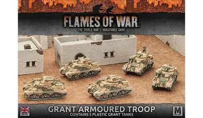 BBX37 Grant Armoured Troop (Plastic)