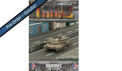 MTANKS02 American M1 Abrams Tank Expansion Battlefront- Blitz and Peaces