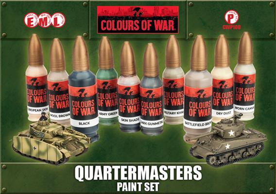 CWP100 Quartermaster Paint Set Battlefront- Blitz and Peaces