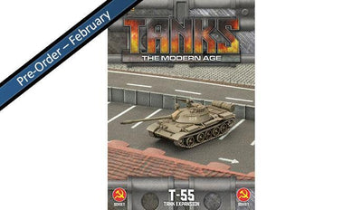 MTANKS22 Soviet T-55 Tank Expansion
