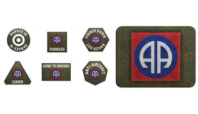 US905 82nd Airborne Division Tokens and Objectives