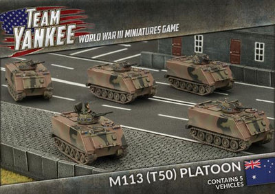 TABX02 M113 (T50) Platoon Battlefront- Blitz and Peaces