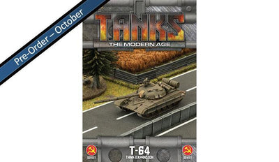 MTANKS07 Soviet T-64 Tank Expansion