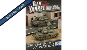 TIBX06 ZSU-23-4 Shilka AA Platoon Battlefront- Blitz and Peaces