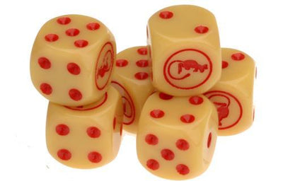 TANKS45 Desert Rats Dice Set