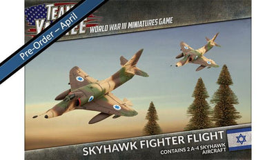 TIBX08 Skyhawk Fighter Flight Battlefront- Blitz and Peaces