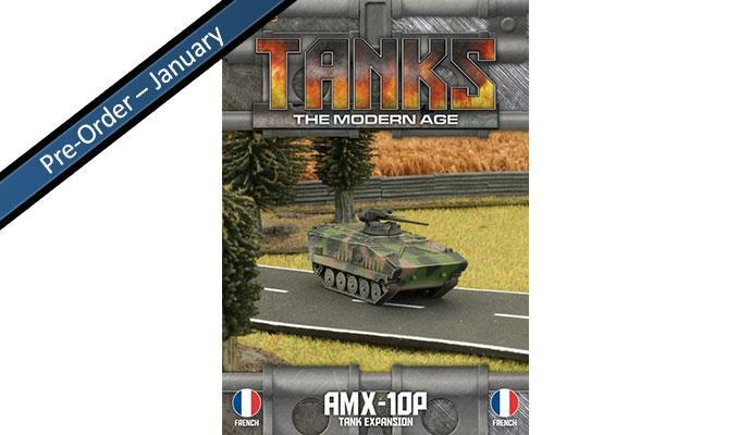 MTANKS15 French AMX10 Tank Expansion Battlefront- Blitz and Peaces