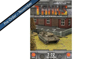 MTANKS03 Soviet T-72 Tank Expansion