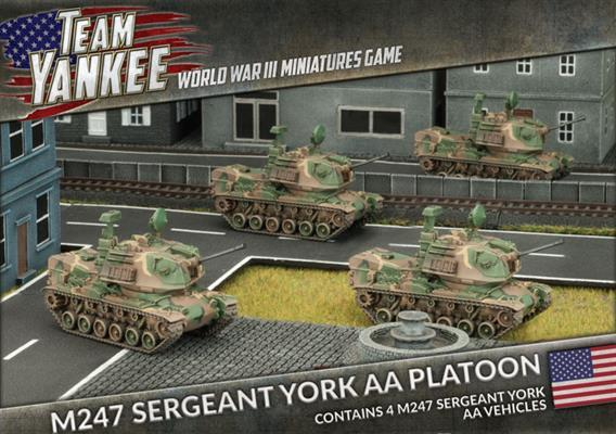 TUBX10 M247 Sergeant York AA Platoon Battlefront- Blitz and Peaces
