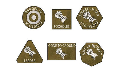 BR903 Armoured Fist Tokens