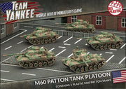 TUBX11 M60A1/A3 Tank Platoon (Plastic) Battlefront- Blitz and Peaces