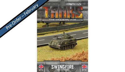 MTANKS24 British Swingfire Tank Expansion Battlefront- Blitz and Peaces