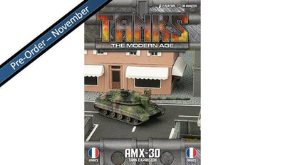 MTANKS10 French AMX-30 Tank Expansion Battlefront- Blitz and Peaces