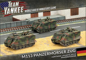 TGBX09 M113 Panzermorser Zug (x3) Battlefront- Blitz and Peaces