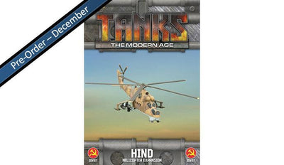 MTANKS28 Soviet Hind Helicopter Expansion Battlefront- Blitz and Peaces
