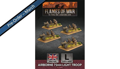 BBX50 Airborne 75mm Light Troop (Plastic)