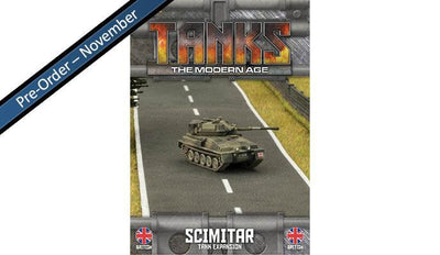 MTANKS08 British Scimitar Tank Expansion