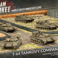 TSBX13 T-64 Tankovy Company (Plastic) Battlefront- Blitz and Peaces