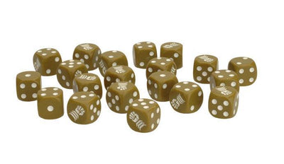 BR902 Armoured Fist Dice Set Battlefront- Blitz and Peaces