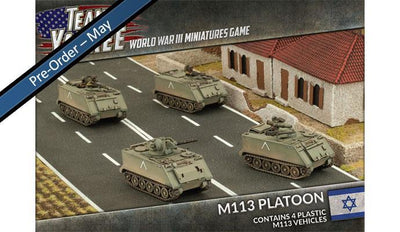 TIBX03 M113 Platoon (Plastic) Battlefront- Blitz and Peaces