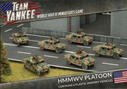 TUBX14 HMMWV Platoon (Plastic) Battlefront- Blitz and Peaces